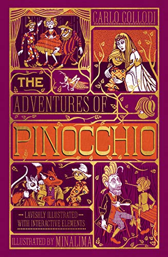 Compare Textbook Prices for Adventures of Pinocchio, The [Ilustrated with Interactive Elements] Illustrated Edition ISBN 9780062905277 by Collodi, Carlo