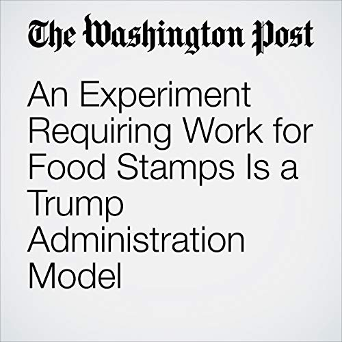 An Experiment Requiring Work for Food Stamps Is a Trump Administration Model audiobook cover art