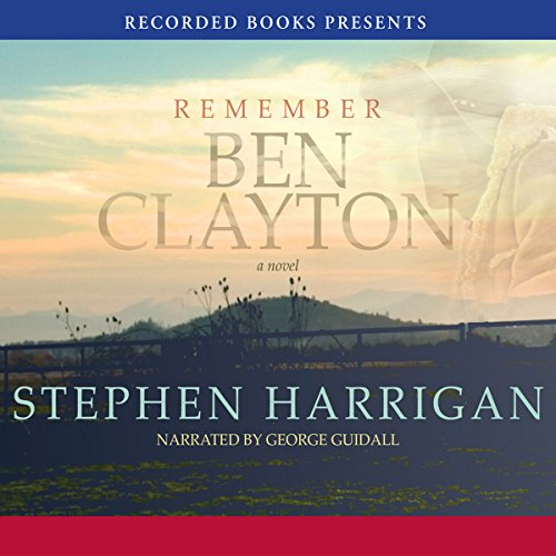 Remember Ben Clayton audiobook cover art