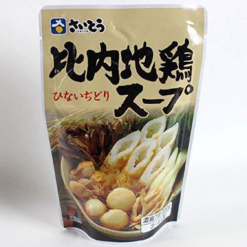 【3袋セット】 斎藤昭一商店 比内地鶏スープスタンドパック 200g × 3袋