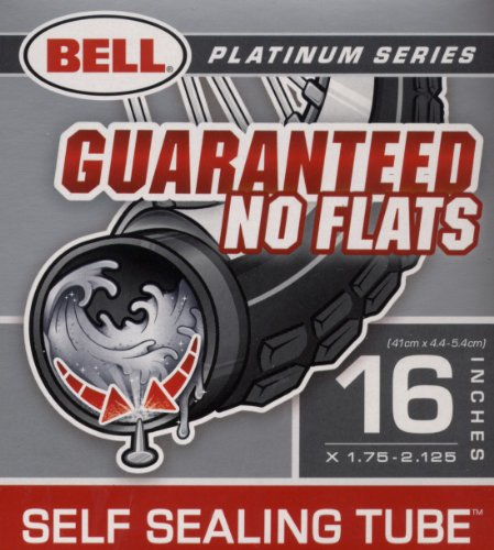 Bell Sports 7015230 16-Inch Self-Sealing Bicycle Inner Tube - Quantity 5
