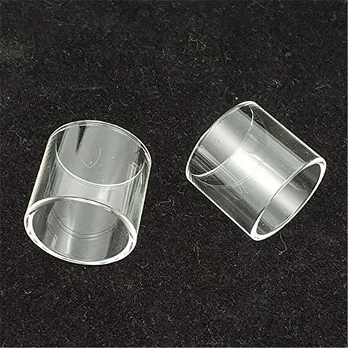 Denghui-ec 2 stücke Ersatzglasschlauch Fit für UD Goblin Mini V2 V3 Fit für Zephyrus v2 Fit für Goliath Bellus Malss Tank (Größe : Fit for Zephyrus v2 6ml 2pc)
