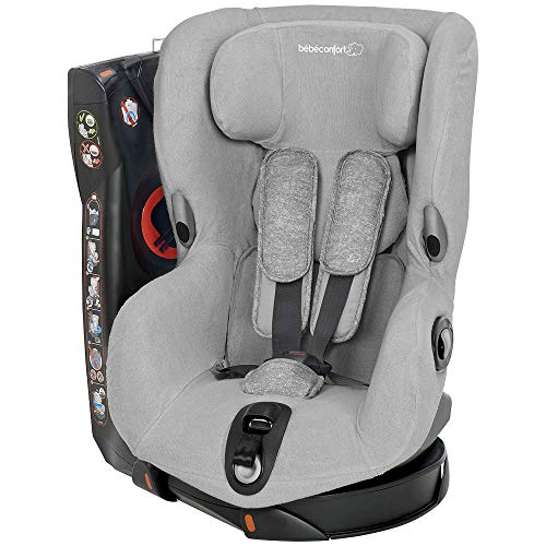 Bébé Confort Axiss - Funda de verano para silla de coche Axiss, color Cool Grey