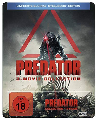 Predator 1-3 Steelbook [3Blu-Ray] [Region B] (IMPORT) (Nessuna versione italiana)
