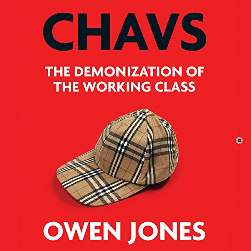 Chavs audiobook cover art