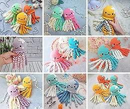 Crochet Octopus preemie Amigurumi octopus Stuffed Octopus rattle Baby Toy Baby Gift Octopus newborn twin Cute Octopus