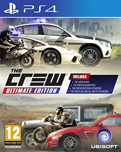 The Crew - Ultimate Edition PS4 - Ultimate - PlayStation 4