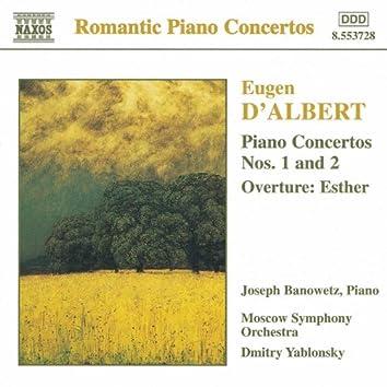 Albert: Piano Concertos Nos. 1 and 2 / Esther Overture