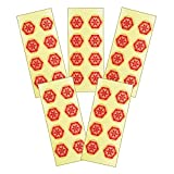 テラヘルツ加工ヒランヤ壮健シール(8枚1シート×5シート入り) 六芒星 ヘキサグラム 六角形 ダビデの星 ヒランヤ・パワーつぼシール