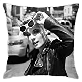 Xuanuan Halse-Y Super Soft Throw Pillow Case Zippered Pillowcase Couch Chair Wedding Bedroom Hotel One Size