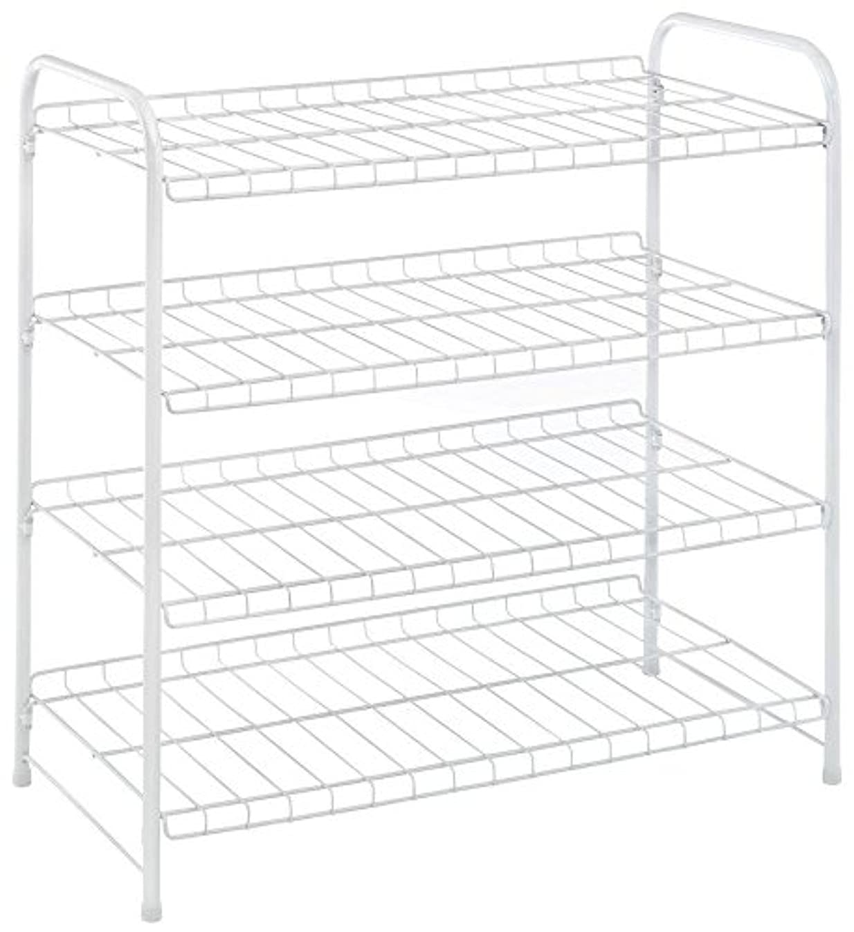 Whitmor 4 Tier White Wire Closet Shelves