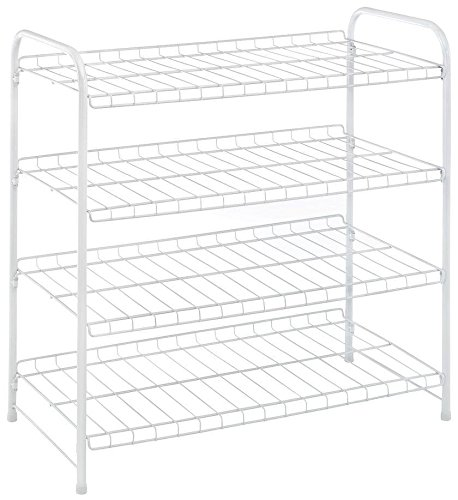Whitmor, White, 4 Tier, Closet Shelf