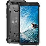 Moviles Resistentes 4G, Blackview BV5500Plus Android 10.0 Smartphone(2020), 5.5' HD+ Pulgadas, 32GB+ 3GB(SD 128GB), 4400mAh Batería, 8MP+5MP, IP68 Telefono Movil Antigolpes, Dual SIM/GPS/NFC/Face ID