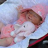 Poupées Reborn bébé, garçon Tout-Petits Nurturing Accessoires Bouteille Peluche Jouets en Silicone Full Body 18 Pouces en Bas âge Vie