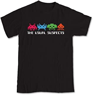Space Invaders 'The Usual Suspects' Gaming T-Shirt