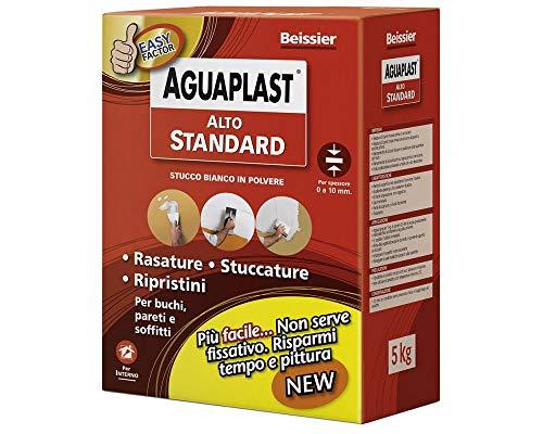 Stucco in polvere ad alte prestazioni AGUAPLAST ALTO STANDARD vari formati - KG.1