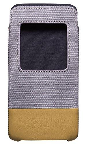 Blackberry ACC-63006-002 Schutzhülle Smart Pocket für DTEK50 grau