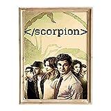 FANART369 Scorpion #2 Poster A3 Größe TV Serie Poster