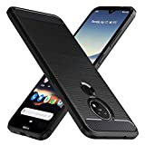 Peakally Nokia 7.2 / Nokia 6.2 Case, Black TPU Cover Phone