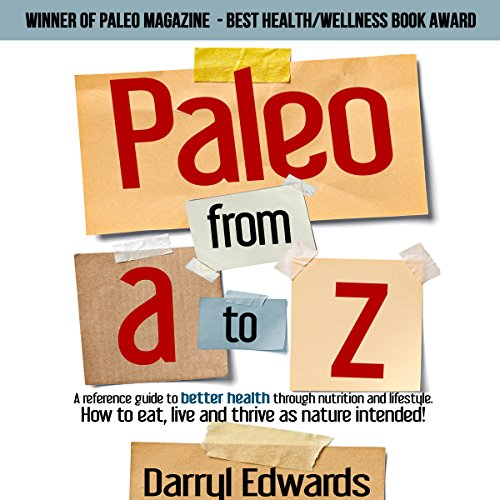 Paleo from A to Z audiobook cover art