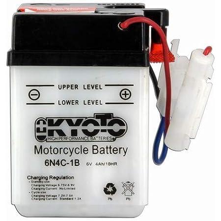 Kyoto Motorrad Batterie 6n4c 1b 6v 4ah Auto