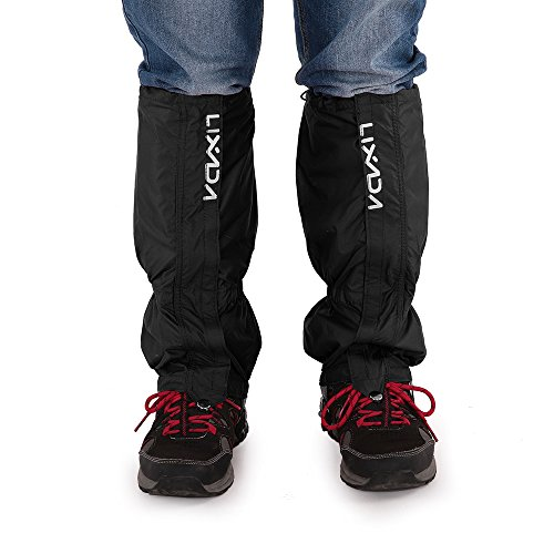 Roeam Leg Gaiters,Snow Boot Gaiters Outdoor Unisex Zippered Closure Wear and Water Resistant Cloth Gaiters Leggings Cover for Biking Snowboarding Hiking