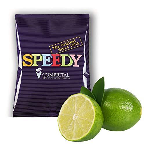 COMPRITAL kg 1,25 Prodotto Pronto per Gelato O Sorbetto al Gusto Lime Limone per GELATERIA Artigianale