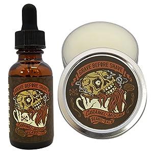 GRAVE BEFORE SHAVE Caramel Mocha Beard Pack (Caramel Mocha Coffee Scented) 8