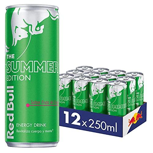 Red Bull Bebida Energética, 12 Latas De 250s, S, Fruta