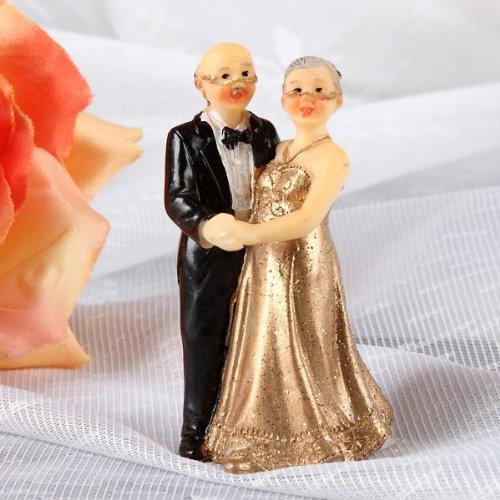 Udo Schmidt Kleine Deko-Figur zur Goldenen Hochzeit (7cm)