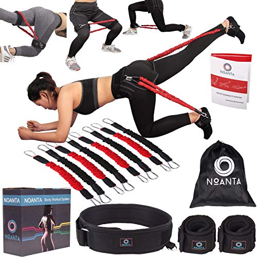 NOANTA Booty Resistance Belt Workout Bands System, Legs and Butt Training Exercise Equipment