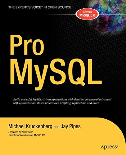 Download Pro Mysql (The Expert'S Voice In Open Source) 159059505X