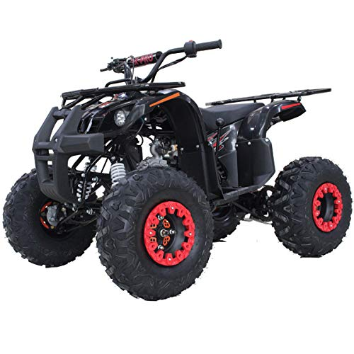 X-Pro 125cc ATV Quad Adults ATV 4 Wheelers Youth 4 Wheeler ATVs Hawk 125cc Big Boys ATVs Quads with Gloves, Goggle and Handgrip