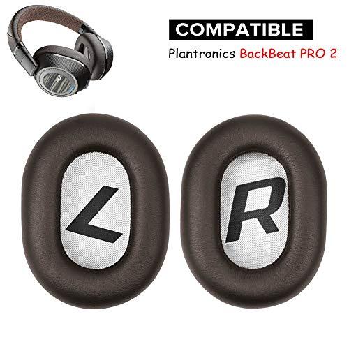 BackBeat Pro 2 cuscinetti auricolari di ricambio per cuffie Plantronics BackBeat Pro 2 senza fili con cancellazione del rumore.