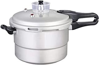 Pressure cooker stainless steel pressure cooker Large capacity pressure cooker 4L / 5L / 10L, anti-clog base is safe and reliable, suitable for home and kitchen