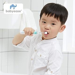MDB Electric Toothbrush Waterproof Brush - Smart Toothbrush with Replacement Brush Head, Backlight Handle, Rotatable Massage Head (Orange)