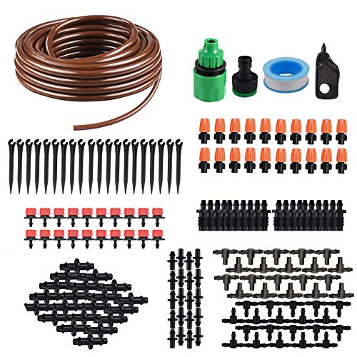 KORAM IR-D 50 Feet Blank Distribution Tubing Hose Plant Watering Irrigation Drip Kit Accessories...