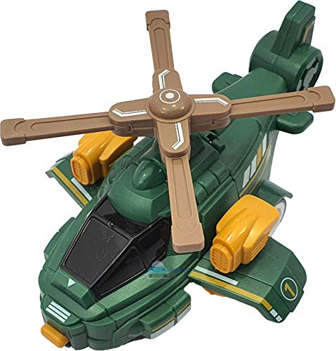 FunBlast Plastic 2 In1 Helicopter Robot, Pack Of 1, Multicolour