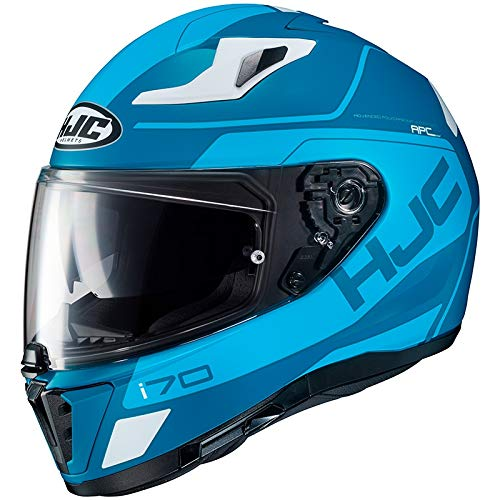 Motorradhelm HJC i70 KARON MC2SF, Blau/Weiss, M