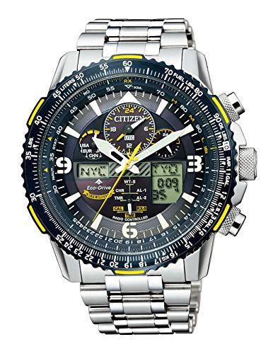 [シチズン] 腕時計 プロマスター エコ・ドライブ電波時計 ブルーエンジェルスモデル 特定店取扱モデル JY8078-52L メンズ シルバー