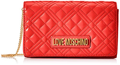 Love MoschinoJc4247pp0aMujerCarteras de manoRojo (Red)7x14x22 Centimeters (W x H x L)