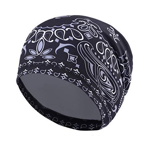 Runtlly Sweat-Wicking Skull Cap/Helmet Liner/Running Beanie Cap -Ultimate Thermal Retention Bandana/Fits Under Helmets Cycling Cap #6