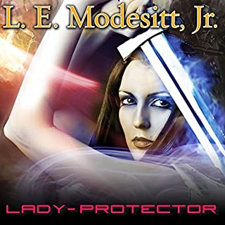 Lady-Protector audiobook cover art