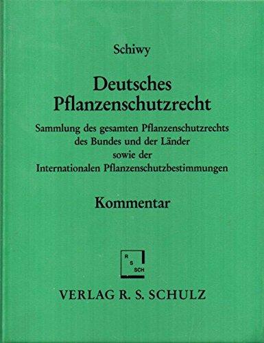 Deutsches Pflanzenschutzrecht