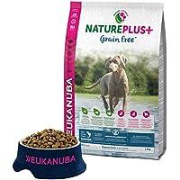 EUKANUBA NaturePlus+ Sin grano Cachorro y Junior Con salmón fresco congelado [2.3 kg]