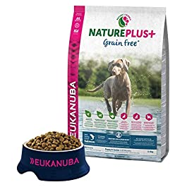 Eukanuba Puppy Dog Food For Large Dogs Rich In Fresh Chicken For the Optimal Body Condition of Your Dog 3kg