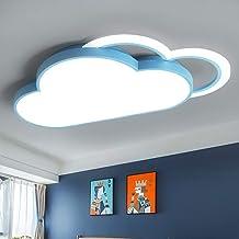 Henley Moderne plafondlamp voor de kinderkamer, 36 W, 6000 K, led-design, wolk, plafondverlichting, voor jongens en meisje...