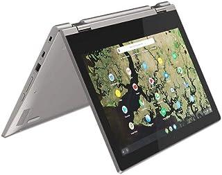 "Lenovo C340 Chromebook, Display 11.6"" HD Touch IPS, Processore Celeron N4000, 64GB eMMC, 4GB RAM, ChromeOS, Platinum Grey"