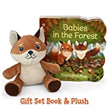 Babies in the Forest Gift Set: Includes Lift-A-Flap Board Book and Cuddly Plush Toy Fox Friend for Birthdays, Baby Showers, Christmas and Easter ... Board Book and Cuddly Plush Toy Friend)