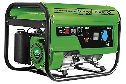 Generatore di corrente 2,0 Kw Vinco 60170 GPL Butano/propano